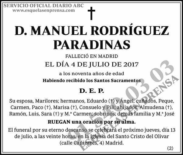 Manuel Rodríguez Paradinas